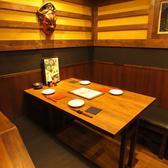 炭火串焼と旬鮮料理の店 やさい巻き串の獅志丸の雰囲気3