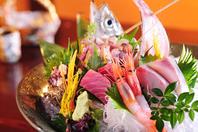 旬の鮮魚をお刺身で!【特選お造り盛り合わせ】