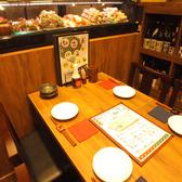 炭火串焼と旬鮮料理の店 やさい巻き串の獅志丸の雰囲気2