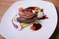 料理メニュー写真国産牛ヒレのロッシーニ