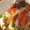 料理メニュー写真海鮮サラダ(小/大)