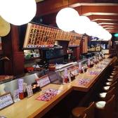 元祖ぶっちぎり寿司 魚心 本店の雰囲気2