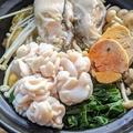料理メニュー写真痛風鍋 1人前 (牡蠣、白子、アン肝)