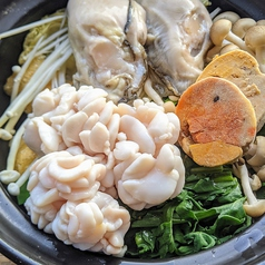 痛風鍋 1人前 (牡蠣、白子、アン肝)