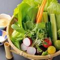 料理メニュー写真宮城農村サラダ(有機野菜)
