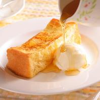 【実演デザート】フレンチトーストはランチ限定食べ放題