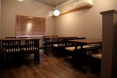 喫煙室と禁煙室の個室を完備しており、お子様ずれのお客様や彼女とのデートにお友達や会社の方とご来店ください♪