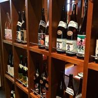 地酒や酎ハイ、カクテル、ワインなど多彩なドリンクあり