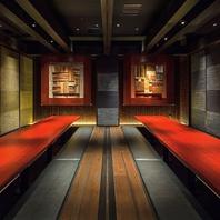 全席扉付き完全個室で優雅なご宴会・接待を。