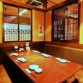 個室・半個室、各種テーブル等完備※画像は系列店