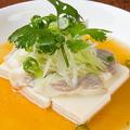 料理メニュー写真コブダイと豆腐の広東蒸し