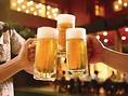 ヱビス生瓶ビールを含む288種類超えが飲み放題6月限定でMAX6時間飲み放題1380円開始 詳細はお問い合わせください。