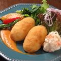 料理メニュー写真ホタテのクリームコロッケ