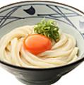 料理メニュー写真釜玉うどん【温】 並/大