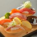 料理メニュー写真おまかせ握り寿司 各8貫