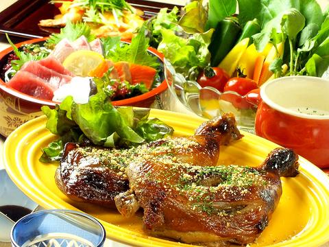 名物山賊焼きをメインに各種宴会に最適なコース料理をご用意しております。