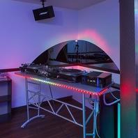DJ機材を使って、音楽を楽しめる◎