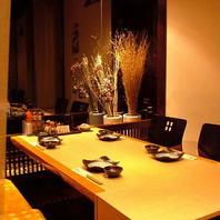 小倉駅で飲むなら大小さまざまな個室がある寿里庵へ!
