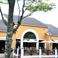 一軒のレストラン。特別な雰囲気でお食事を…
