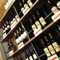 こだわりのスペインワインも各種に取り揃えております!