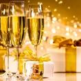 お祝い事は任せてください!乾杯スパークリングワインに花束、ホールケーキなど・・ご用意いたします!お気軽にお電話ください!!