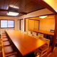 【3階・個室】最大20名様・20名様・10名様用の個室有り♪会社宴会やプライベートでの集まりなど、各種宴会に◎