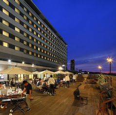 JR九州ステーションホテル小倉 スカイガーデンバーベキューの雰囲気1
