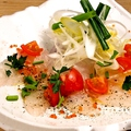 料理メニュー写真鮮魚のカルパッチオ