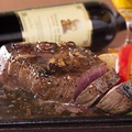 料理メニュー写真特上1ポンドステーキ