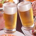 +1600円(税・サ込)でアルコール90分飲み放題に!