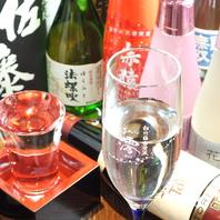 和食に合う焼酎、日本酒を多く取り揃え