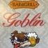 BAR&GRILL goblin ゴブリンのロゴ