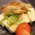 料理メニュー写真手づくりチーズ豆腐