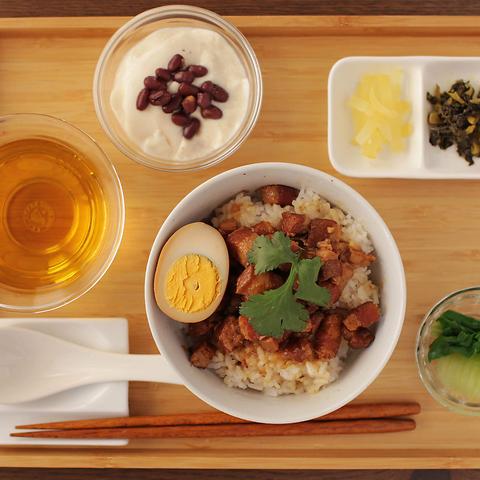 【平日限定!】本場台湾の味を味わう!魯肉飯ランチセット1,200円→1,000円(税抜)