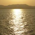 瀬戸内海の広島湾にある江田島の食材を提供