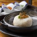 料理メニュー写真【十方名物】出汁香る焼き雲丹飯