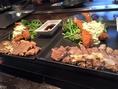 【ランチ】 サーロインステーキとタルタル海老フライ