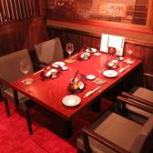 ホール側ボックス席【6卓、7卓、8卓】 テーブル席 2~4名様