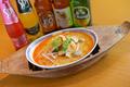 料理メニュー写真トムヤムクン ヌードル(辛酸っぱい海老入りライスヌードル)