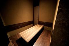 個室。6名様まで。当店に一つのプレミアムシートです。