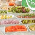 和食を中心としたビュッフェ レストラン!ピザやパスタ、惣菜やサラダバーなど種類豊富♪