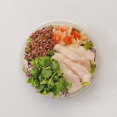 アジアンパクチーサラダ(ドリンクセット)