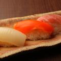 料理メニュー写真市場直送!新鮮魚介を使用した寿司各種