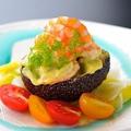 料理メニュー写真アボカドと小海老のサラダ(マヨネーズソース)