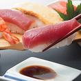 ディナー限定!!お寿司8種が食べ放題!
