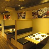 岐阜駅スグ♪落ち着いた和空間のテーブル席や個室で乾杯