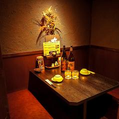 2名様用の個室のお席もございます。デートにも◎居心地の良い空間です!ゆったり個室でお鍋や旬の味覚満載のお料理をお楽しみください。