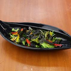 韓国のりが入ったチョレギサラダ/サンチェ/グリーンサラダ