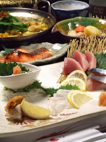 福岡県・吉井町の【路地野菜たっぷりもつ鍋】や長浜市場の鮮魚を…