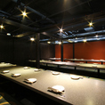 予約のご人数様に合わせてセッティング。神田駅周辺で完全個室の居酒屋をお探しでしたら是非、個室居酒屋北六神田店をご利用ください★